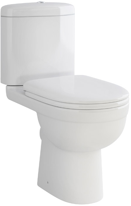 Ivo Compact Bowl, Cistern & Seat